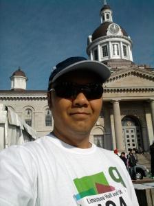 Start Line - 2012 KRRA Half Marathon